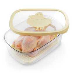 Contenitore salvafreschezza per pollo