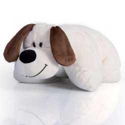 Cuscino cagnolino peluche con luci cambiacolore