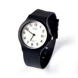Orologio analogico nero Casio