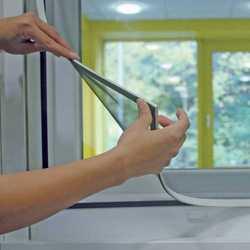Zanzariera con cornice magnetica