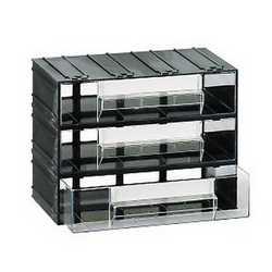 Cassettiera 3 cassetti nero 225 x 133 x 169 mm