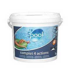 Trattamento piscina Complet 4 actions 5 kg