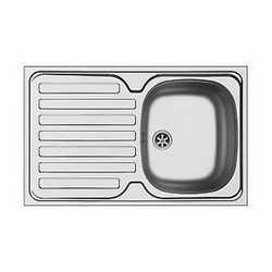 Lavello da appoggio 1 vasca + gocciolatoio