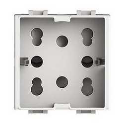 Presa schuko 4box Side PER VIMAR PLANA bianco