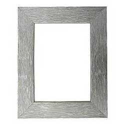 Cornice color argento 35 x 50 cm