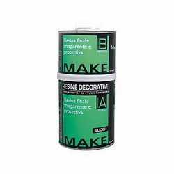 Resina finale protettiva lucida Make 1 L