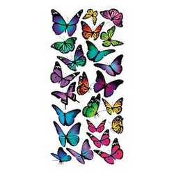 Creative Decor Color Butterflies