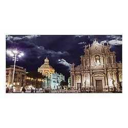 canvas Catania duomo 70x140