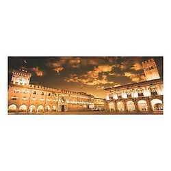 canvas Bologna piazza Maggiore 40x125