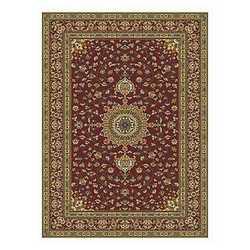 Tappeto Bechir 611616 rosso 160 x 235 cm