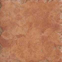 Piastrella Perù 10 x 10 rosso al mq