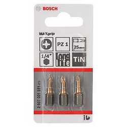 Inserti pozidriv 1 Bosch