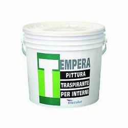Idropittura murale bianca Tempera 4 L