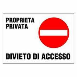 Targa via privata