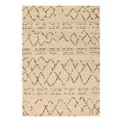 Tappeto Berber crema 133 x 190 cm