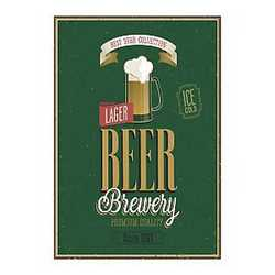 canvas Beer brewery 24x35