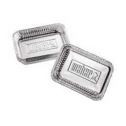 Vaschette per barbecue a gas (10 pezzi) Weber