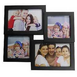 Cornice multifoto nero 28 x 26 cm 4 foto