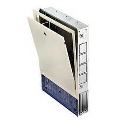 Cassetta per collettori in metallo 700 x 630 x 80 mm
