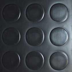Copripavimento PVC bolle antracite 200 cm al mq