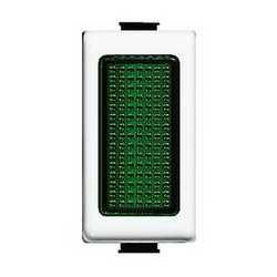 Con diffusore Illuminabile BTicino Matix verde