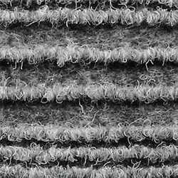 Passatoia al taglio Eco-Stripe grigio 65 cm al m