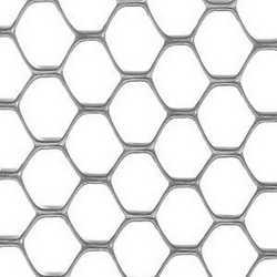 Rete Exagon argento L 5 x H 1,5 m