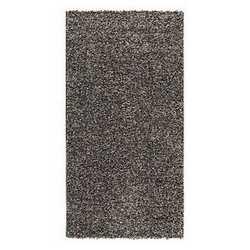 Tappeto Curly grigio scuro 120 x 170 cm