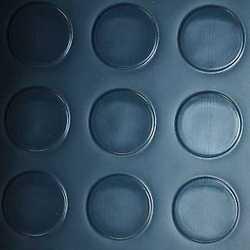 Copripavimento PVC bolle blu 100 cm