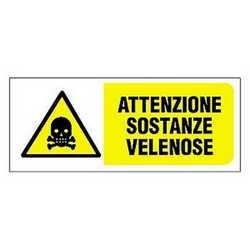 Targa sostanze velenose