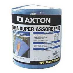 Carta Axton 400 strappi vetri blu Vetri cellulosa