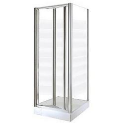 Porta doccia soffietto Europa 96-102 cm