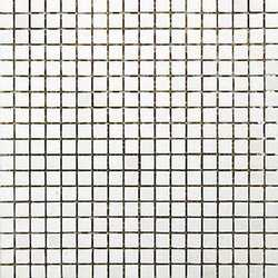 Mosaico Quarzo neve 15 30 x 30 bianco