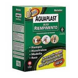 Stucco in polvere Aguaplast Alto Riempimento 1 kg