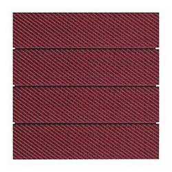 Piastrella Woven 30 x 30 cm x 32 mm rosso
