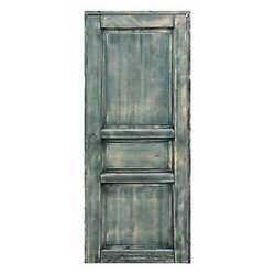 Porta da interno battente Old Town verde 60 x H 210 cm reversibi