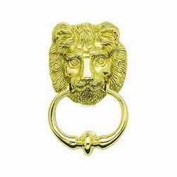 Battente fisso per porta Leone oro Lucido