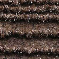 Passatoia al taglio Eco-Stripe marrone 65 cm al m