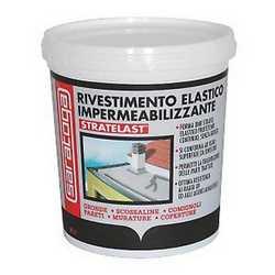 Impermeabilizzante rosso stratelast 0.75 L