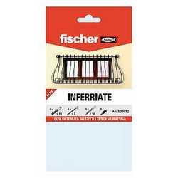 Kit soluzione fischer inferriate vendita online fabbrica for Kit inferriate fischer