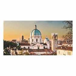 canvas Brescia veduta 60x120