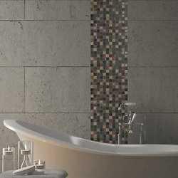 Mosaico Patchwork 30X30 nero, grigio, rosso, oro
