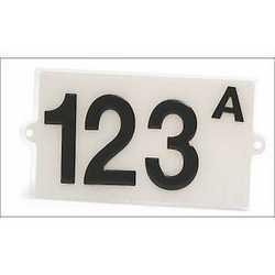 Targhetta adesiva numero civico