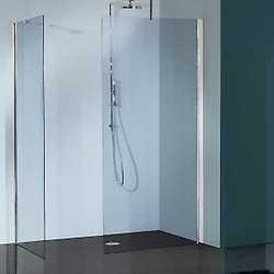 Doccia walk-in Free 30 trasparente/cromo 76-79 cm