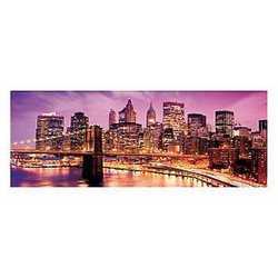 canvas Brooklyn violet 40x125