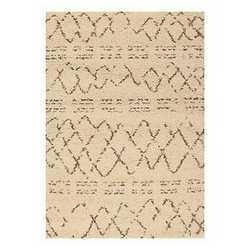 Tappeto Berber crema 160 x 230 cm