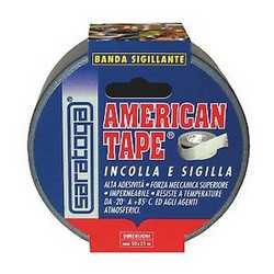 Nastro adesivo American Tape grigio 25 m x 50 mm