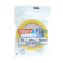 Nastro adesivo Tesa trasparente 66 m x 15 mm