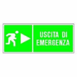 Targa uscita emergenza