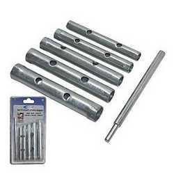 Set di chiavi a tubo con spina 6 pezzi